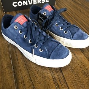 Converse all star chuck Taylor blue suede sneakers